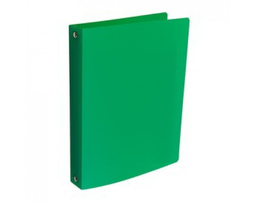 Папка А5 4 кольца Proff.Standard 16 мм зеленая
