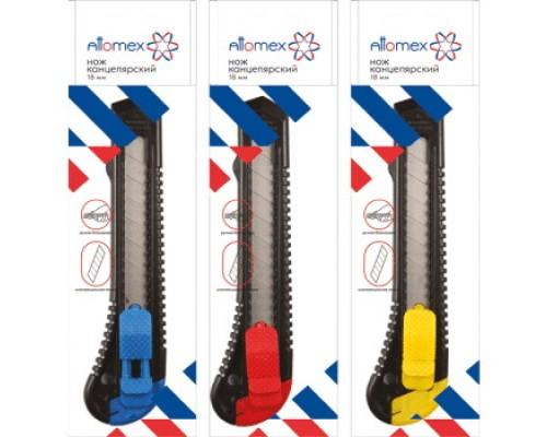 Нож канцелярский 18мм. Attomex