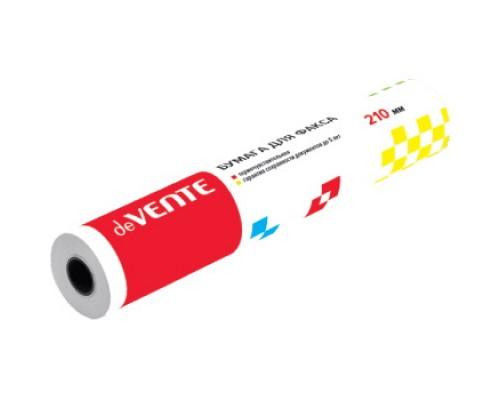 Термобумага для факса deVENTE 210x30x12 мм (28 м)