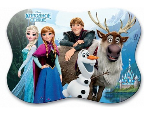 Подкладкадля лепкифигурная 15*20 Disney Frozen