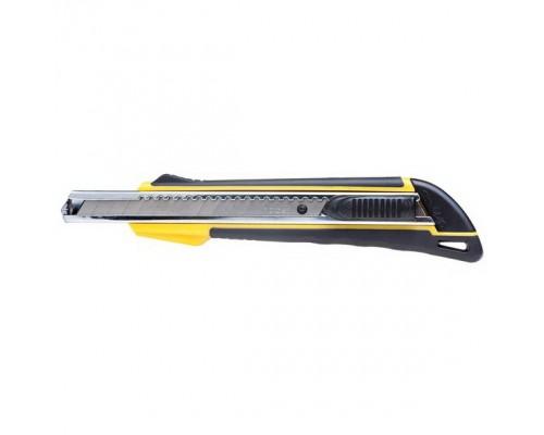 Нож канцелярский 9мм. Hatber RAPID AUTO-LOCK