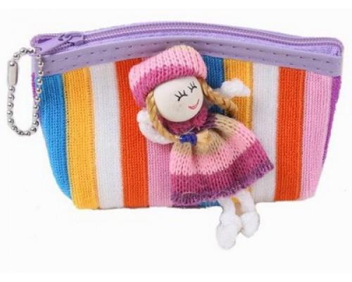 Кошелек с куколкой в пакете,100747053/44799