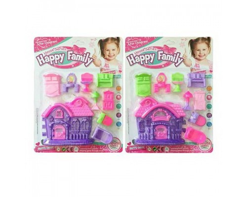 Домик для куклы с мебелью 4497
