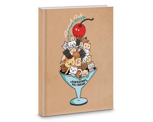 Книга для записей А5 64 листа интегральная Sweets