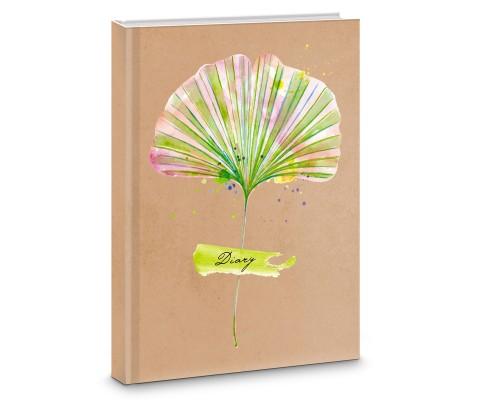Книга для записей А5 64 листа интегральная Nature