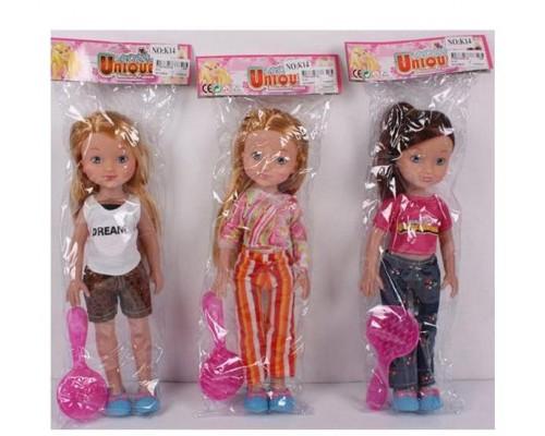 Кукла с расчёской, PAC 33 см.асс. K14