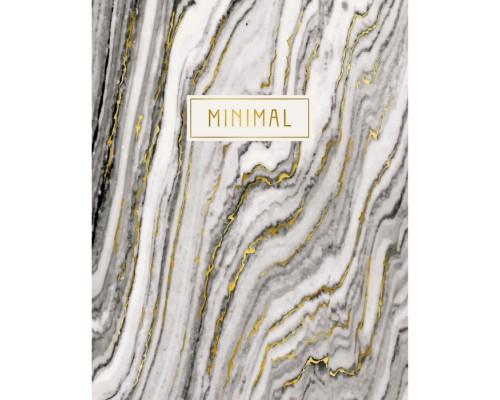 Книга для записей А5 72 листа интегральная обложка Благородные текстуры