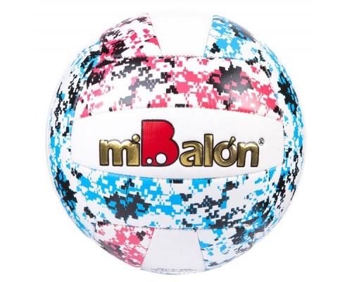 Мяч волейбольный, PU, 260г, 3вида