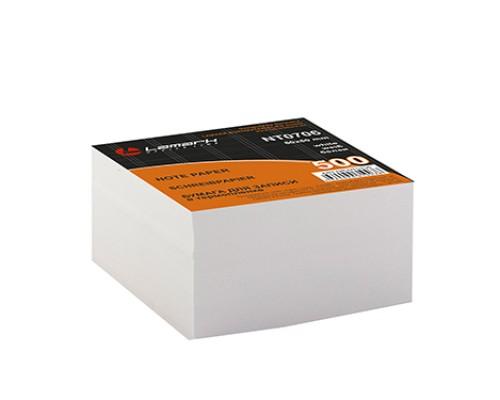 Блок бумажный для записей белый 80*80мм 500 листов